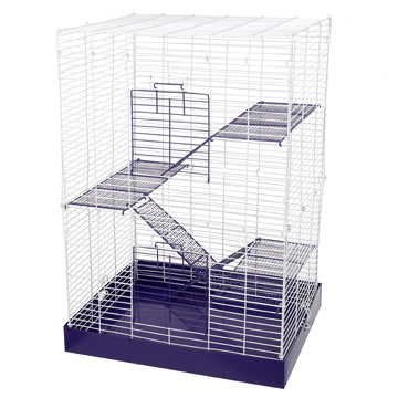 Chew Proof 4 Story Cage