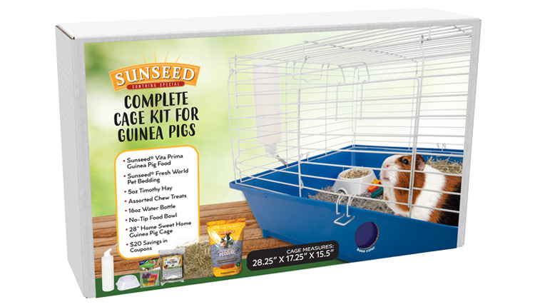 HSH Sunseed Guinea Pig Str Kit