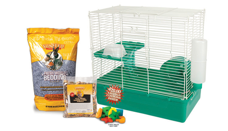 HSH Sunseed Hamster Str Kit