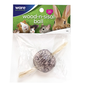 Wood-N-Sisal Ball