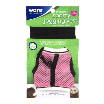 Sporty Jogging Vest, Med