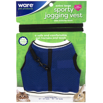 Sporty Jogging Vest, Xlg