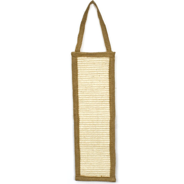 Burlap Door Scratcher