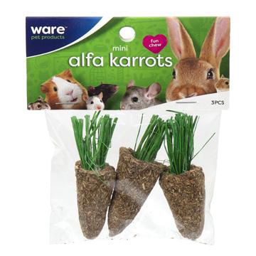 Mini Alfa-Karrots, 3pc