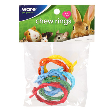 Chew Rings, 6pc