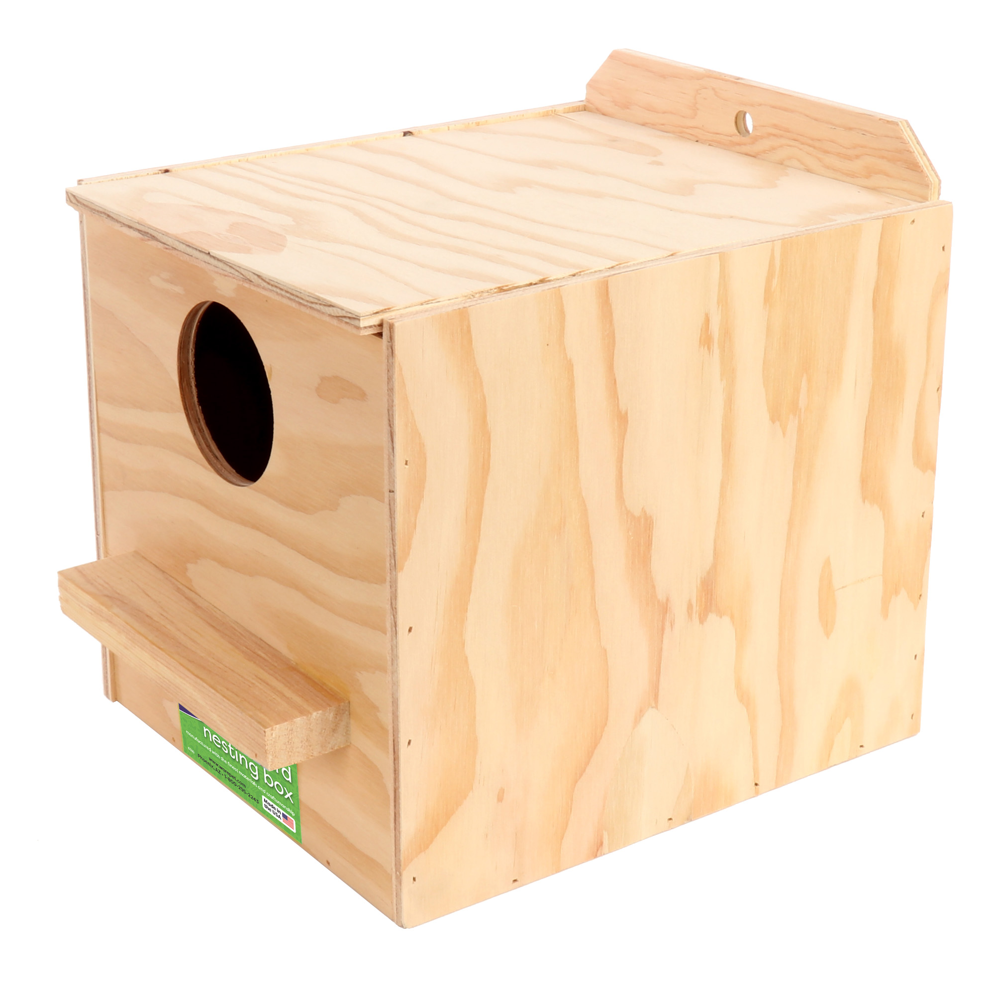 Nest Box, Cockatiel, Regular