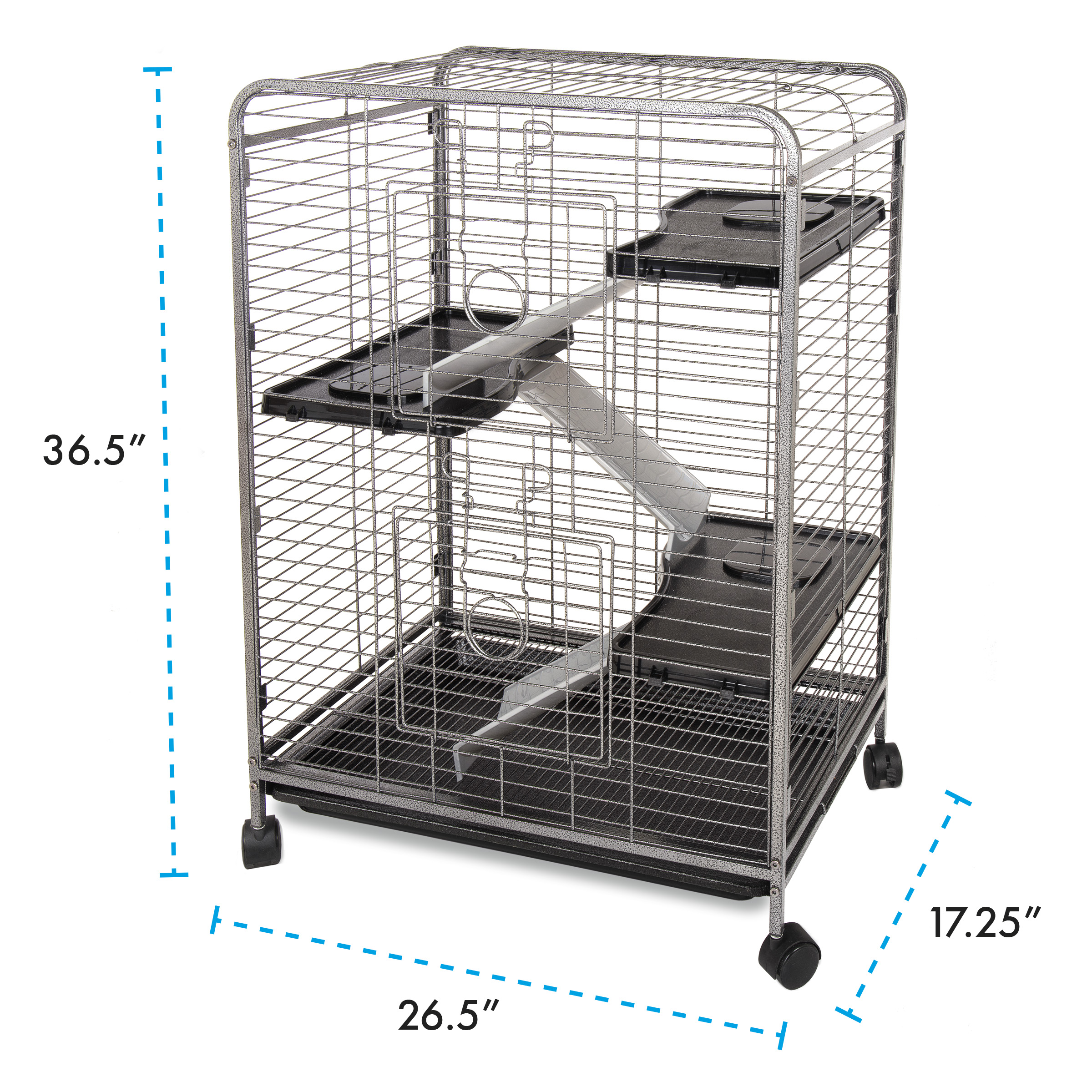 Indoor Hutch, 4 Level, Med