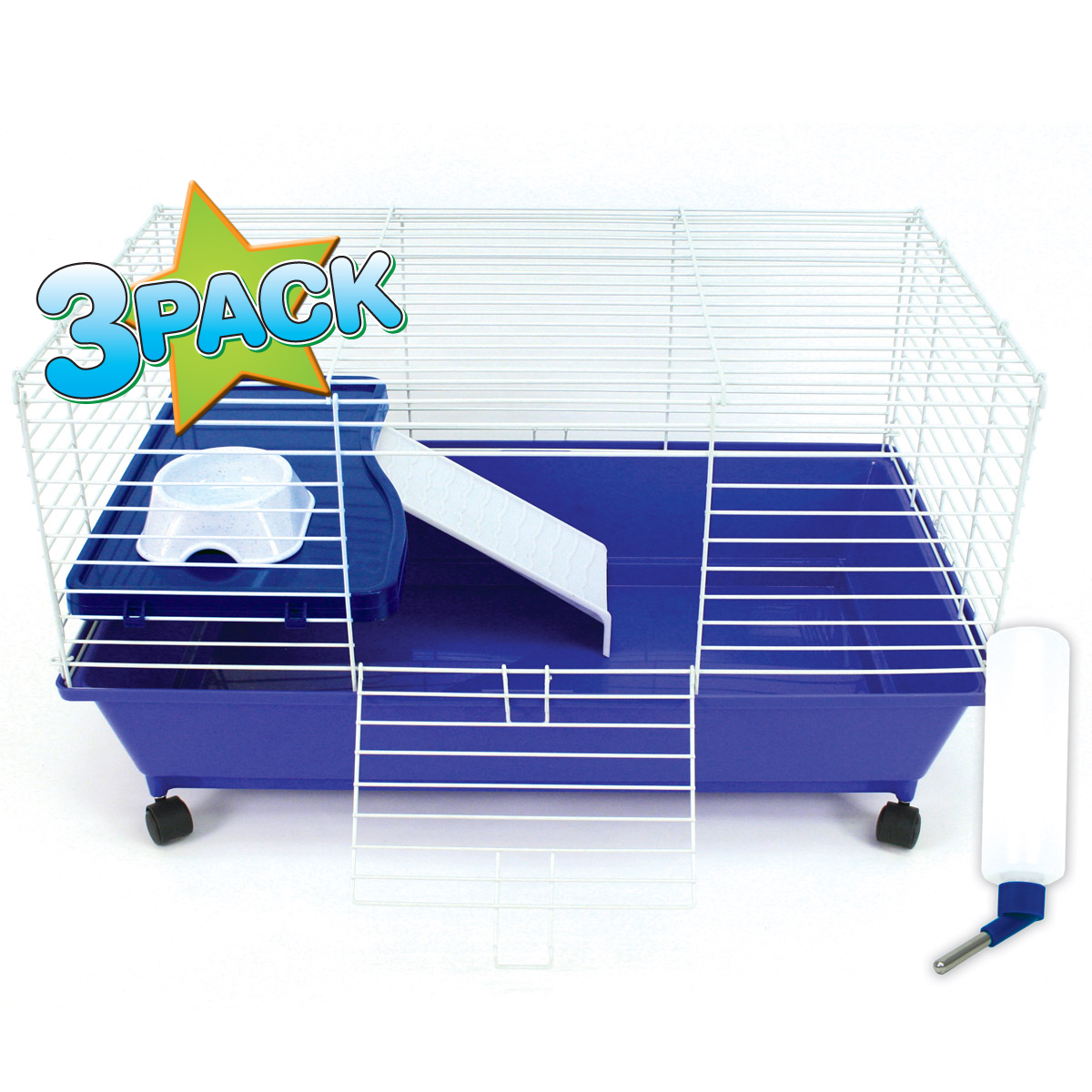 HSH Deluxe Cage,Lg- Sold 3Pk