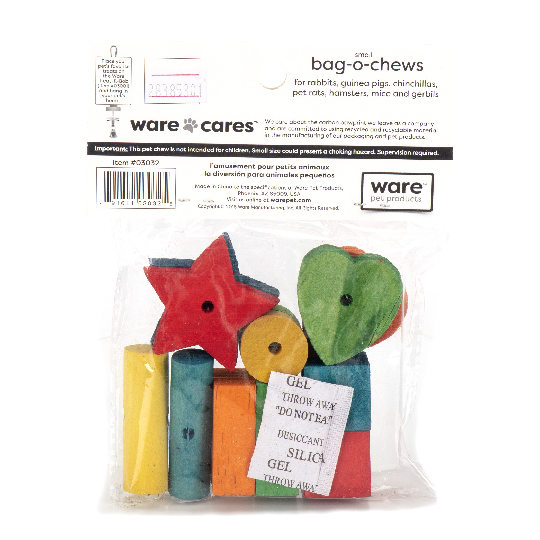 Bag-O-Chews, 12pc, Sm