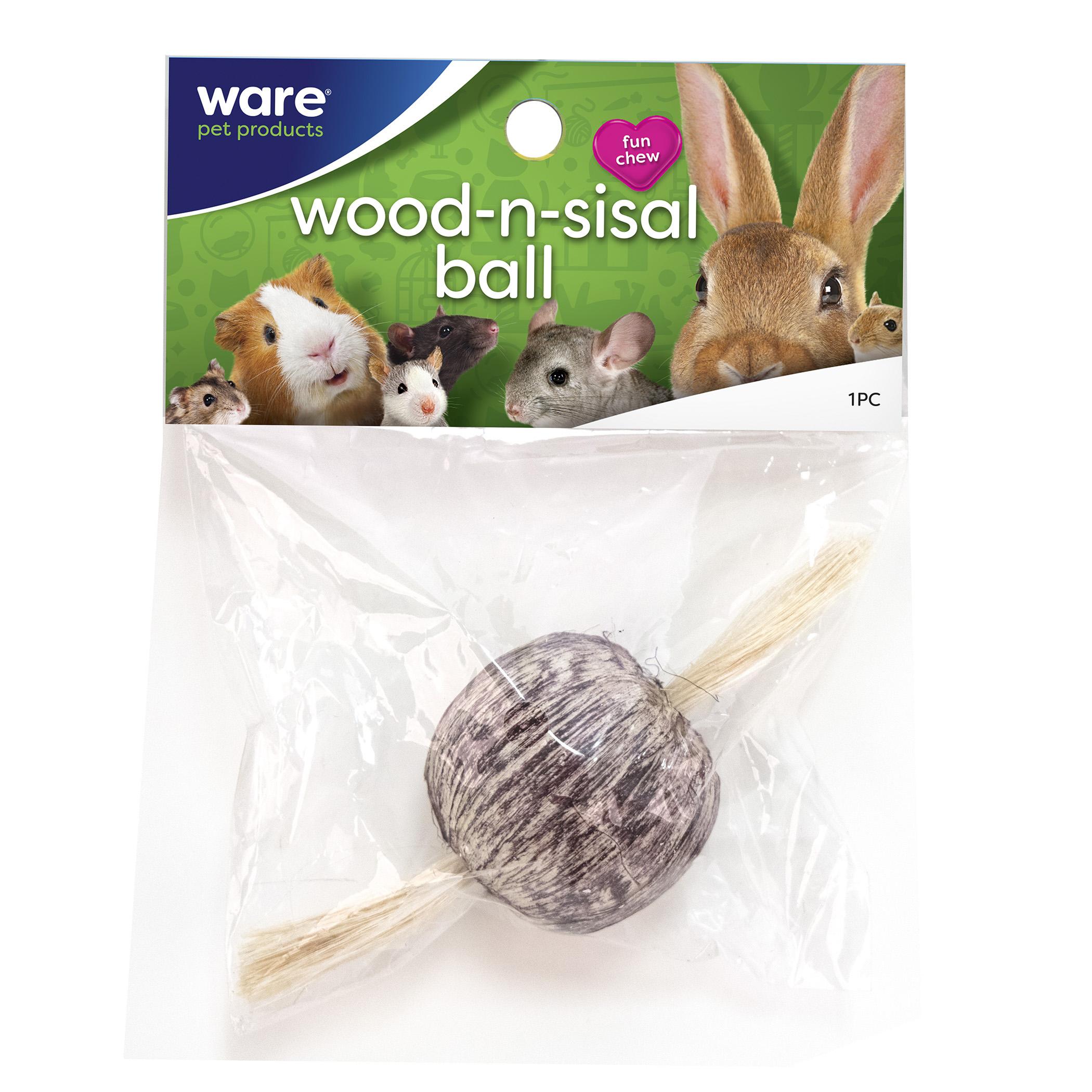 Wood-N-Sisal Ball