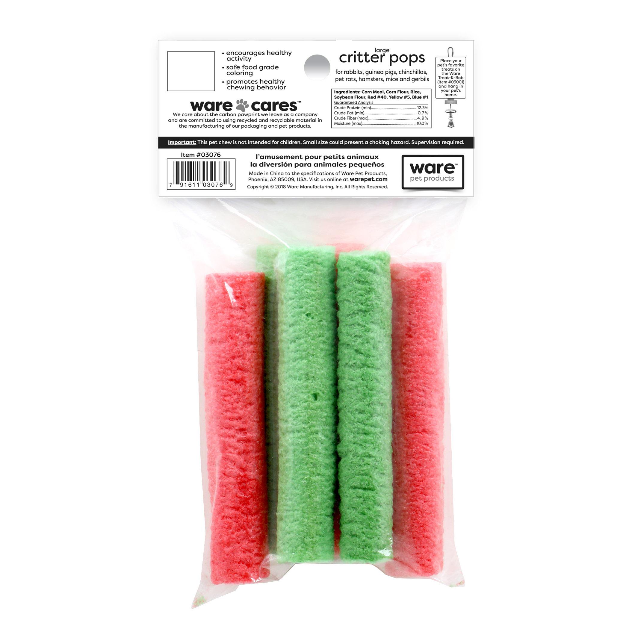 Critter Pops Lg/Rice Pops