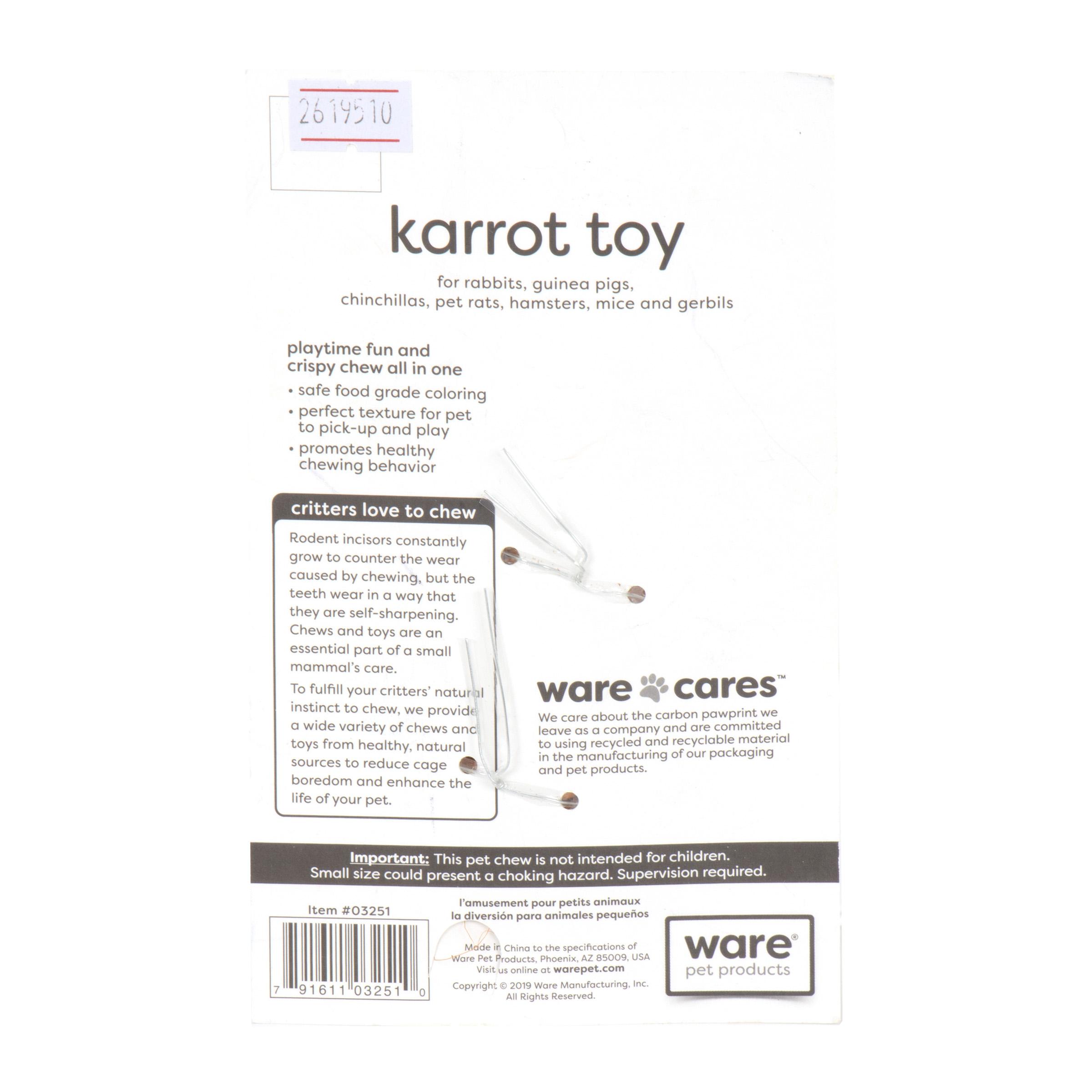 Karrot Toy