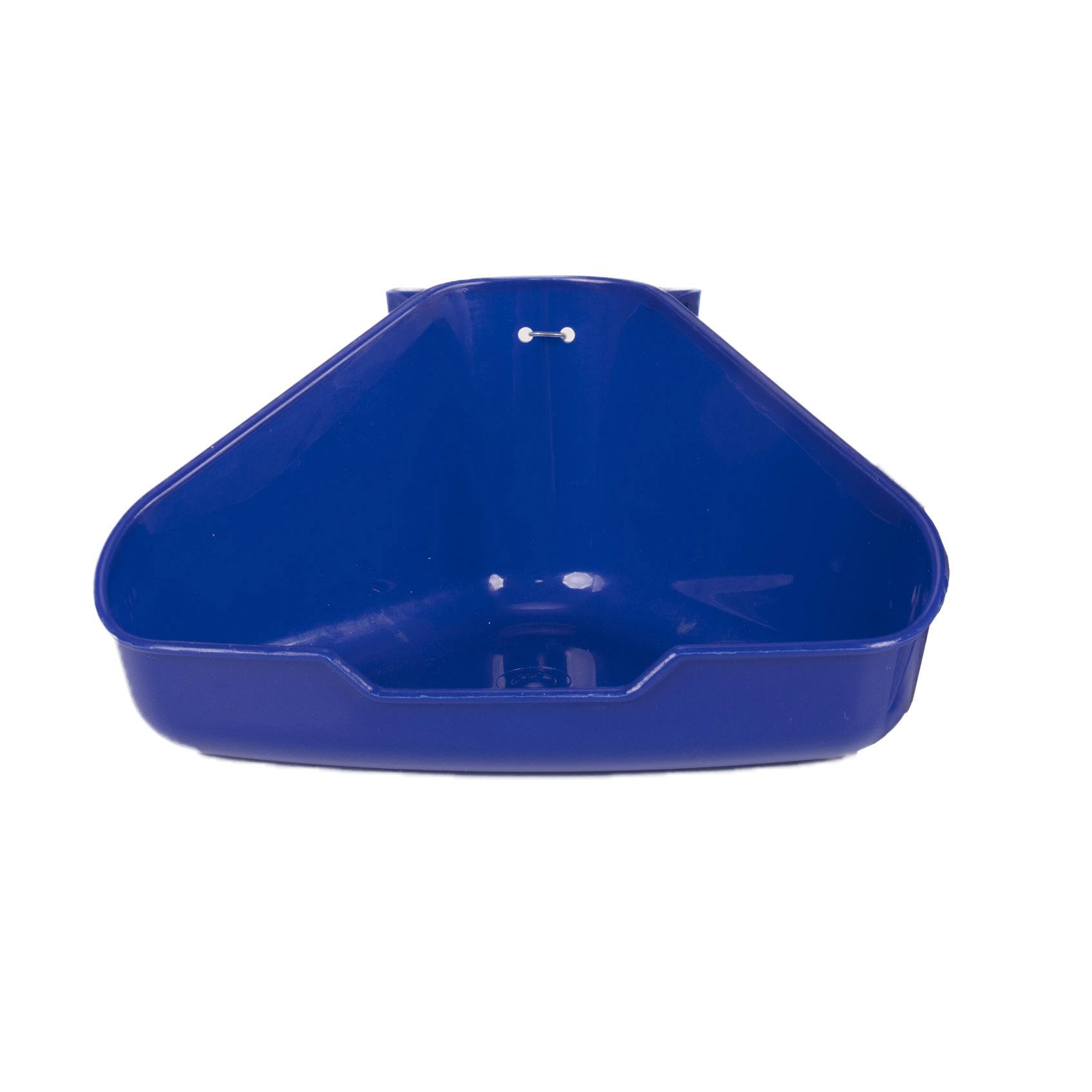 Corner Litter Pan for Critters