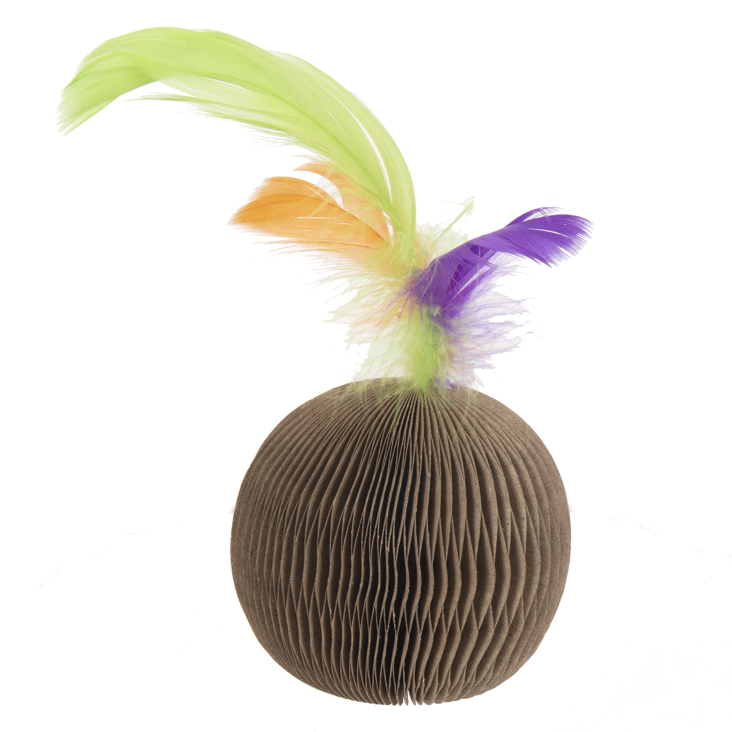 Corrugated Feather Ball