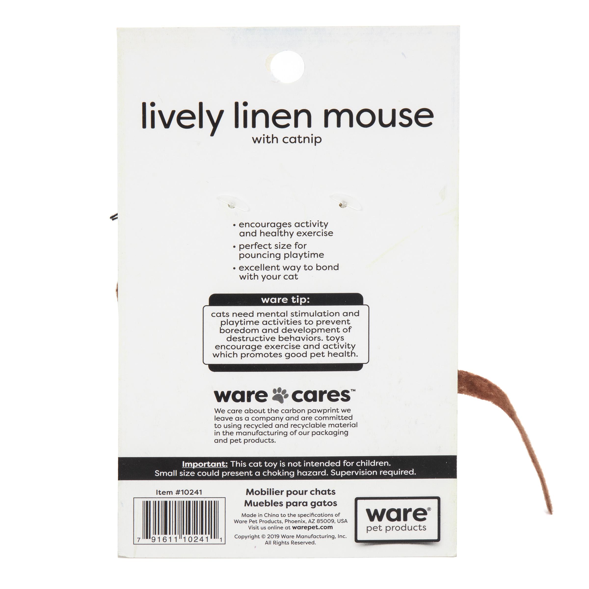 Lively Linen Mice