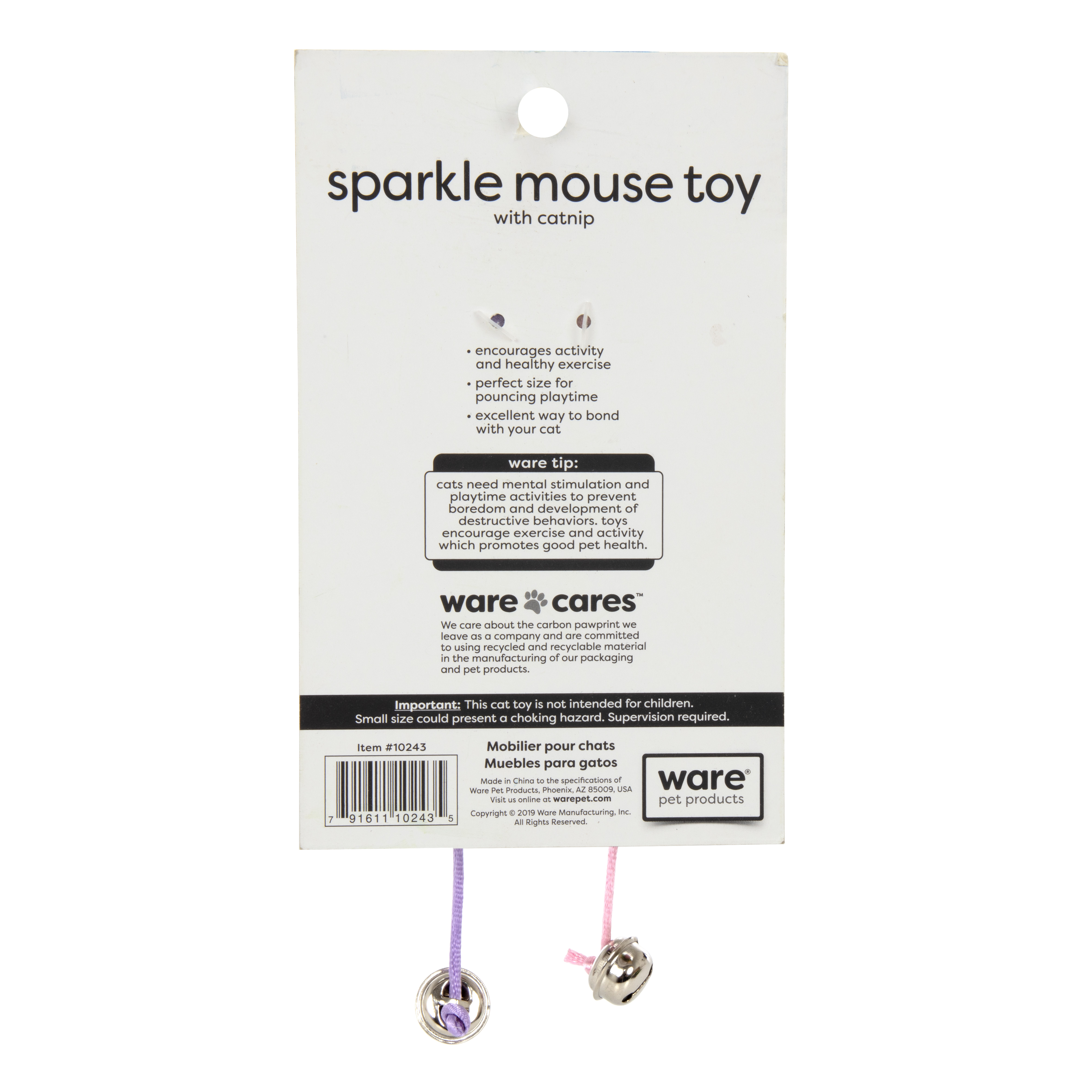 Sparkle Mouse Toy