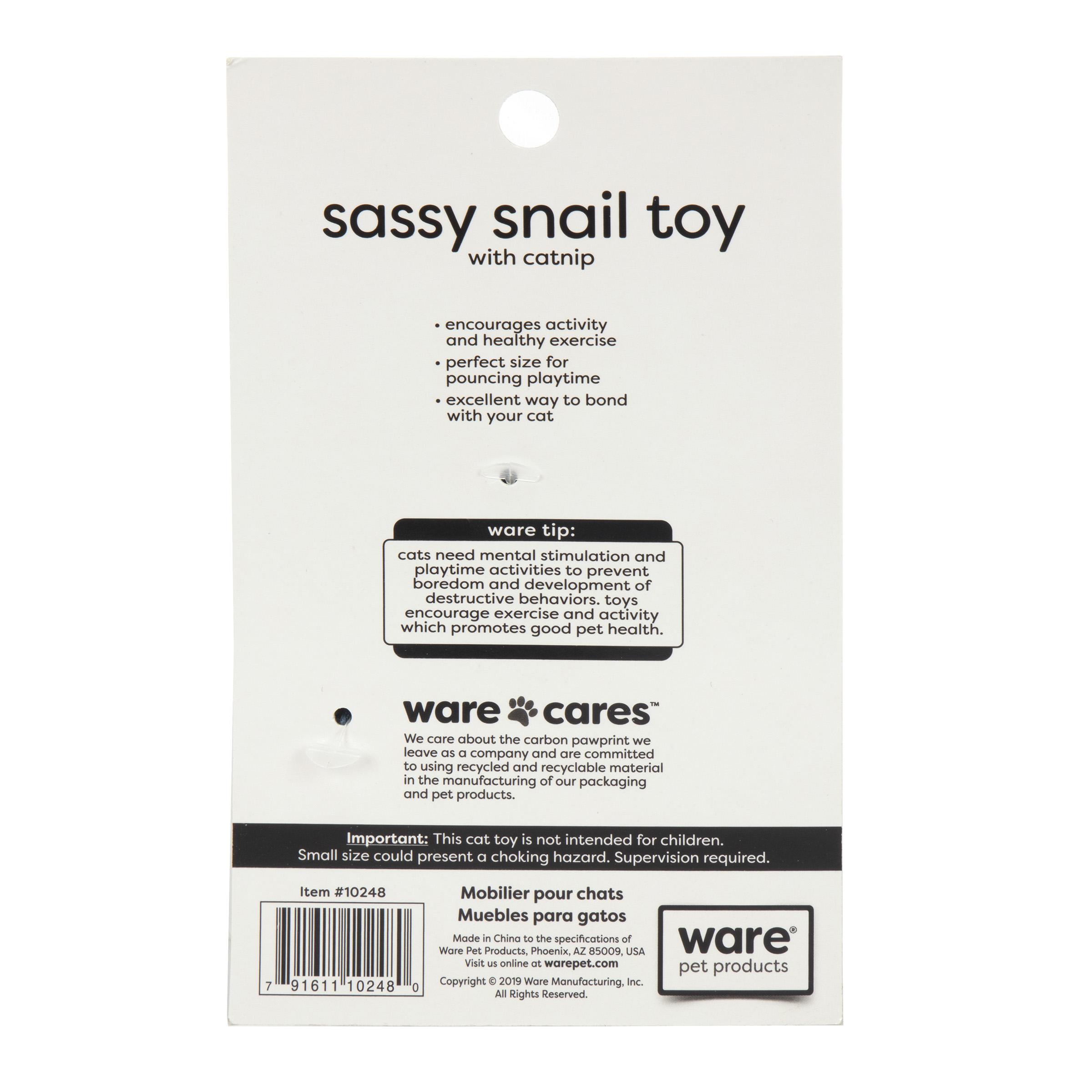 Sassy Snail Toy
