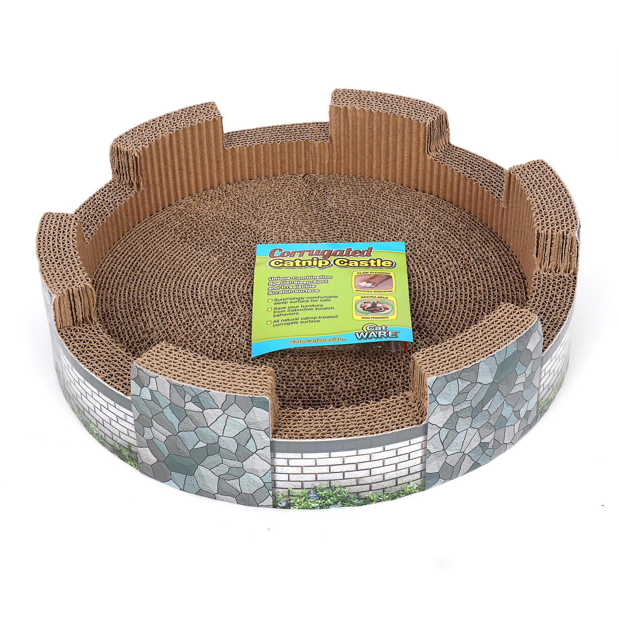 Corrugated Catnip Castle