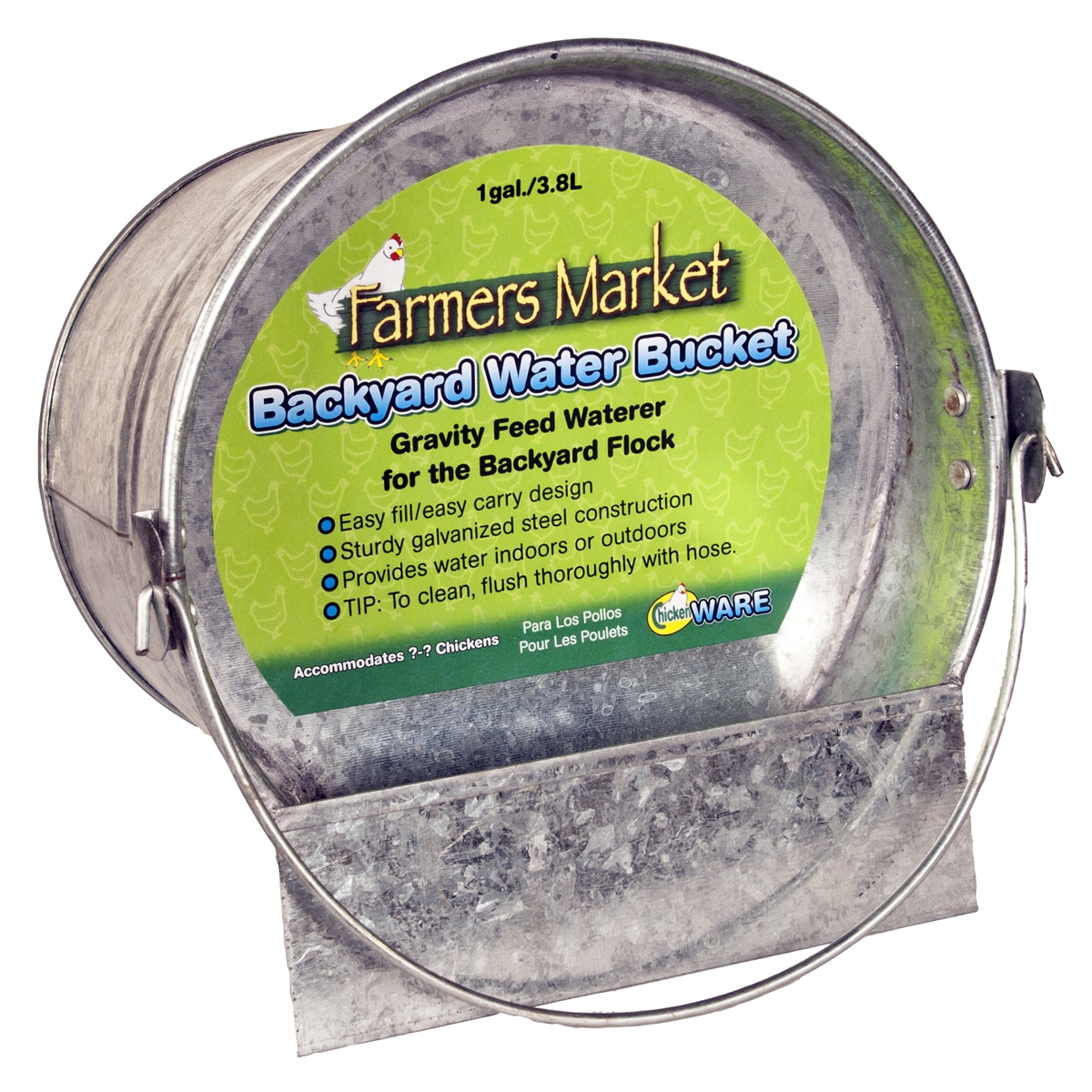 Backyard Water Bucket