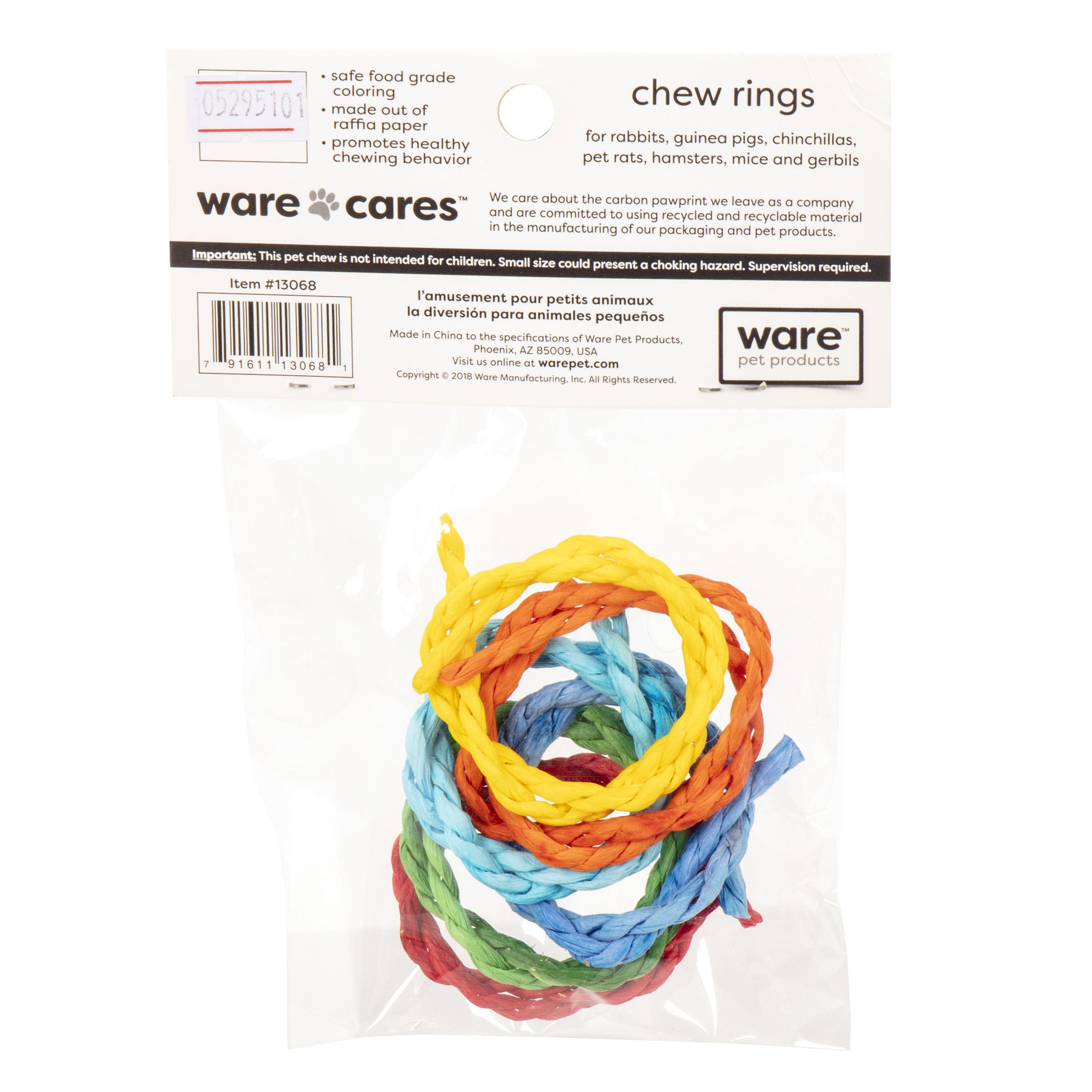 Chew Rings, 6pc