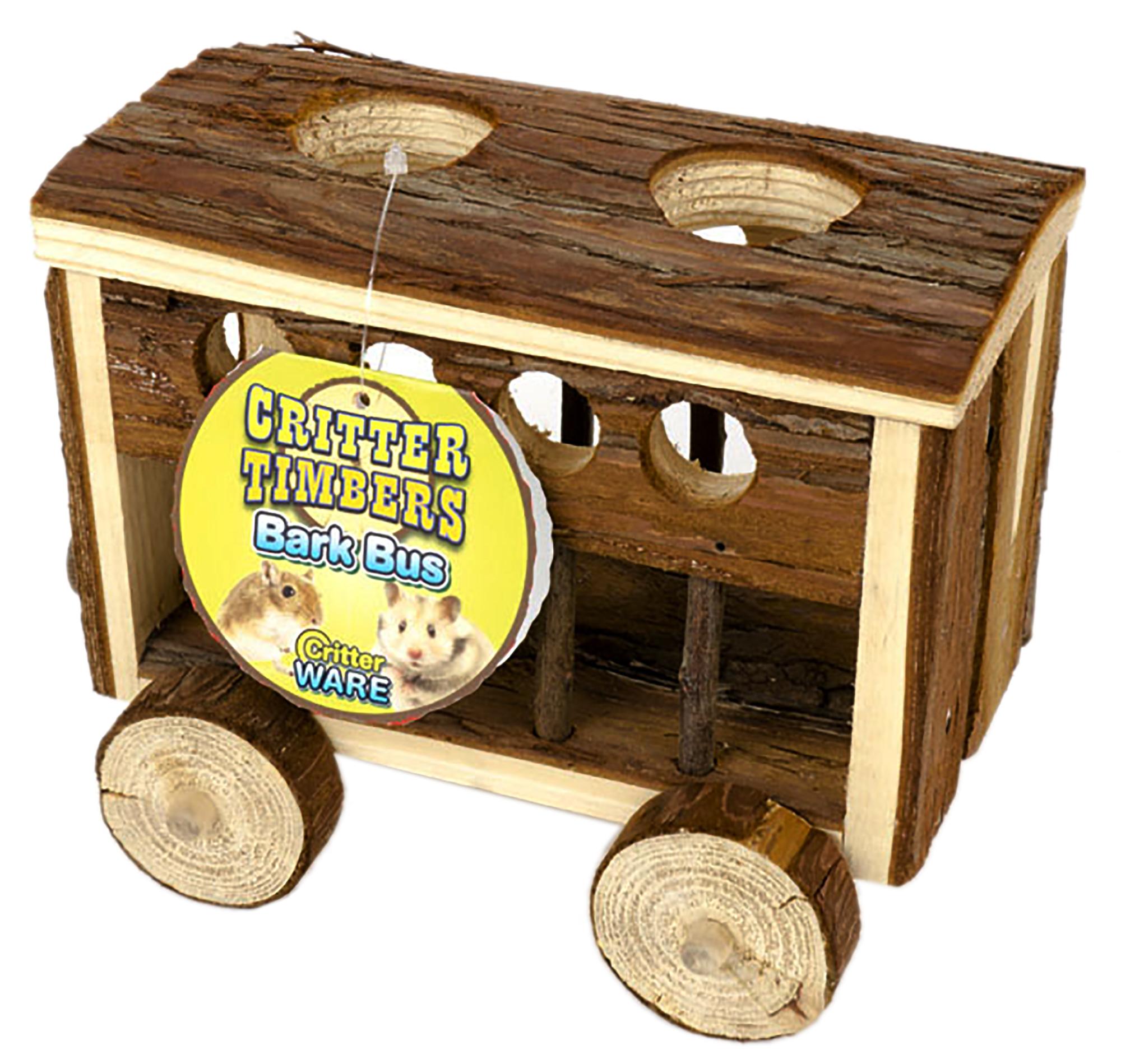 Critter Timber Bark Bus