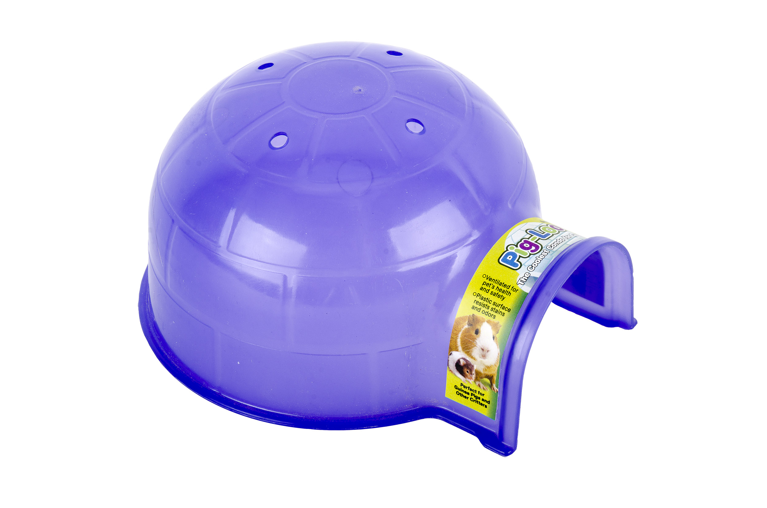 Pig Loo, Small Purple/Green
