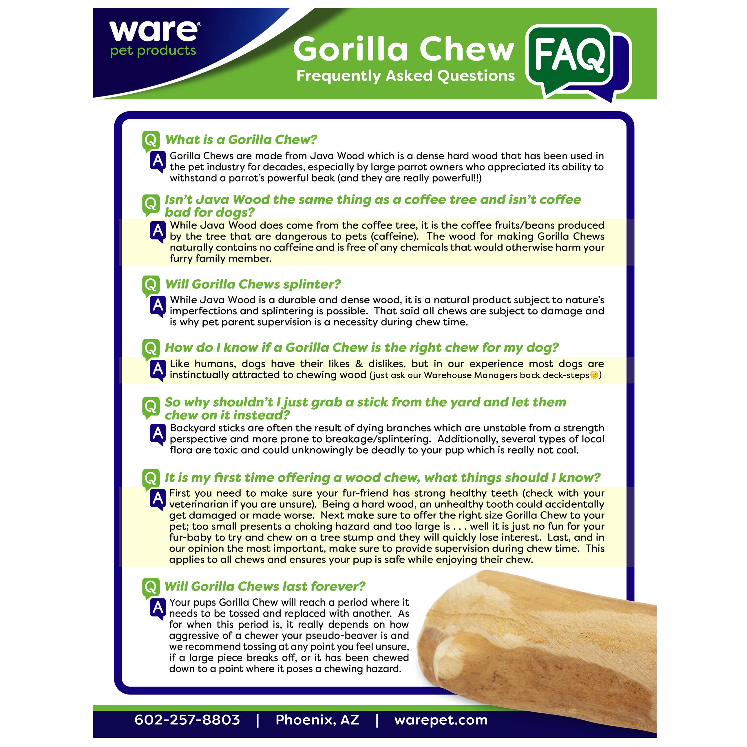 Gorilla Chew M